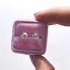 1.72ctw Old European Cut Diamond Stud Earrings 22