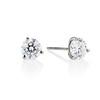 1.72ctw Round Brilliant cut Diamond Stud Earrings 0
