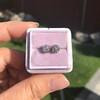 0.97ctw Georgian Collet Stud Peruzzi Cut Diamond Earrings 3
