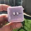 0.97ctw Georgian Collet Stud Peruzzi Cut Diamond Earrings 11
