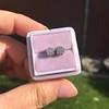 0.97ctw Georgian Collet Stud Peruzzi Cut Diamond Earrings 15