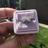 0.97ctw Georgian Collet Stud Peruzzi Cut Diamond Earrings 9