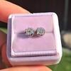 0.97ctw Georgian Collet Stud Peruzzi Cut Diamond Earrings 16