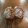2.25ctw Old Mine Cut Victorian Cluster Earrings 3