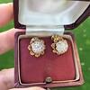 2.25ctw Old Mine Cut Victorian Cluster Earrings 10