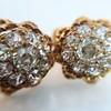 2.25ctw Old Mine Cut Victorian Cluster Earrings 13