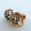 2.25ctw Old Mine Cut Victorian Cluster Earrings 5