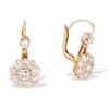 2.20ctw Victorian Old European Cut Diamond Ear Pendants 0