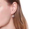 2.20ctw Victorian Old European Cut Diamond Ear Pendants 1