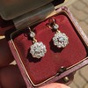 2.20ctw Victorian Old European Cut Diamond Ear Pendants 17