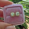 2.23ctw Old European Cut Diamond Stud Earrings 22
