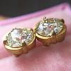 2.23ctw Old European Cut Diamond Stud Earrings 17
