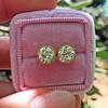 2.23ctw Old European Cut Diamond Stud Earrings 19