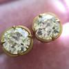 2.23ctw Old European Cut Diamond Stud Earrings 10