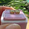 2.23ctw Old European Cut Diamond Stud Earrings 18