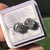 2.25ctw (est) Georgian Collet Stud Earrings 0