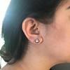 2.25ctw (est) Georgian Collet Stud Earrings 1