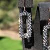 2.50ctw (est) Vintage Diamond Dangle Earrings 10