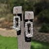 2.50ctw (est) Vintage Diamond Dangle Earrings 16