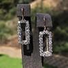 2.50ctw (est) Vintage Diamond Dangle Earrings 9