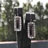 2.50ctw (est) Vintage Diamond Dangle Earrings 6