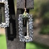 2.50ctw (est) Vintage Diamond Dangle Earrings 11