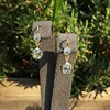 2.00-2.50ctw (est) Georgian Collet Double Drop Earrings 12