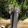 2.00-2.50ctw (est) Georgian Collet Double Drop Earrings 11