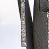 2.60ctw Art Deco Ear Pendant Conversion Earrings, Platinum 13