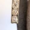 2.60ctw Art Deco Ear Pendant Conversion Earrings, Platinum 12