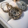 2.65ctw Vintage Old European Cut Diamond Cluster Earrings 23