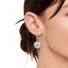 2.65ctw Vintage Old European Cut Diamond Cluster Earrings 1