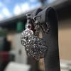2.65ctw Vintage Old European Cut Diamond Cluster Earrings 16