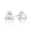 2.97ctw Trilliant Rose Cut Stud Earrings 0