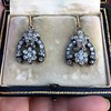 3.00ctw Victorian Antique Diamond Drop Earrings 26