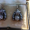 3.00ctw Victorian Antique Diamond Drop Earrings 15