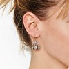 3.00ctw Victorian Antique Diamond Drop Earrings 1