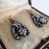3.00ctw Victorian Antique Diamond Drop Earrings 12