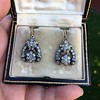 3.00ctw Victorian Antique Diamond Drop Earrings 4