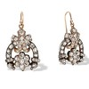 3.00ctw Victorian Antique Diamond Drop Earrings 0