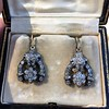 3.00ctw Victorian Antique Diamond Drop Earrings 19