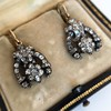 3.00ctw Victorian Antique Diamond Drop Earrings 8