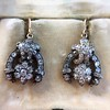 3.00ctw Victorian Antique Diamond Drop Earrings 3