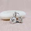 3.00ctw Old European Cut Diamond Earrings 0