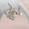 3.00ctw Old European Cut Diamond Earrings 3