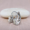 3.00ctw Old European Cut Diamond Earrings 4