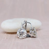 3.00ctw Old European Cut Diamond Earrings 6