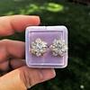 3.10ctw Antique Peruzzi Cut Cluster Earrings 14