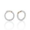 3.50ctw Diamond Hoop Earrings 11