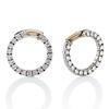 3.50ctw Diamond Hoop Earrings 0